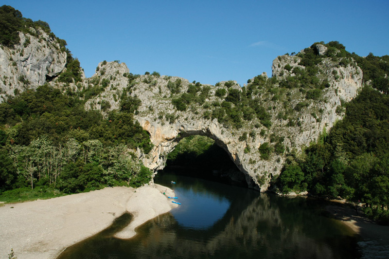 Amazing Pont d'Arc in the Gorges de l'Ardeche